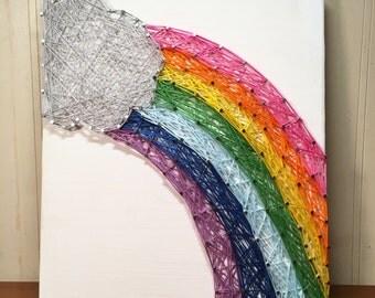 Side Rainbow Sign