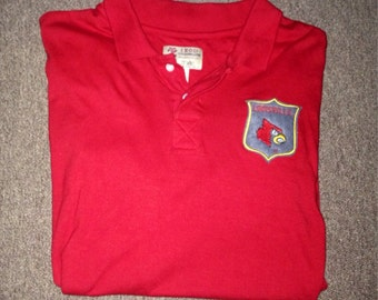 Louisville Cardinals Polo Large