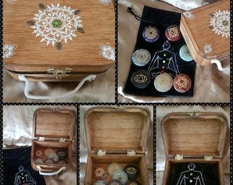 Handmade Small Chakra Box Set