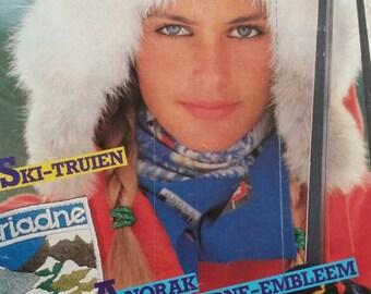 Vintage patterns magazine Ariadne 80s Dutch