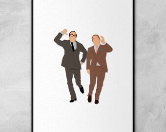 Morecambe and Wise | Minimal Artwork Poster