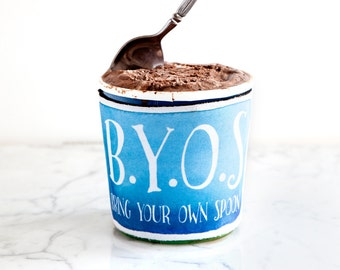 BYOS Ice Cream Pint Hugger, PH0001