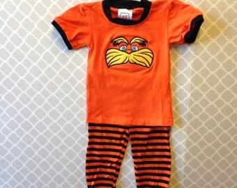 Lorax Inspired Pajamas