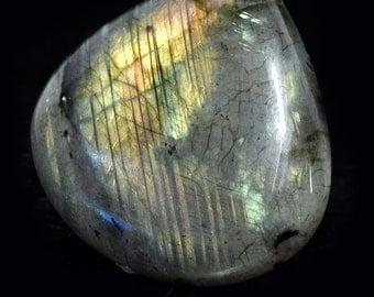 Labradorite cabochon, no. 204, 63.5 carat