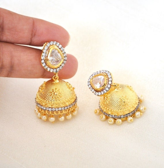 Indian Jhumkis | Indian Jewelry | Indian Earrings