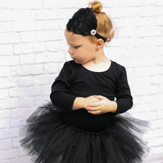 Black Swan Costume - Ballerina Costume Baby Girl
