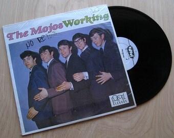 "The Mojos ""Working"" Vinyl Record LP.  British Invasion 1960s Beat UK Import"
