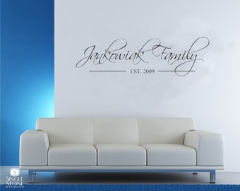 Wall Decal Family Established