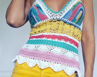 CropTop of crochet