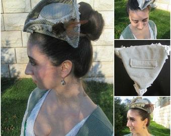 Tricorn Hat; pirate hat; 1700 hat; 18th century hat; military hat; 18th century ladies hat
