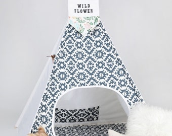 CHI-CHI Kids Teepee Tipi Play Tent with poles