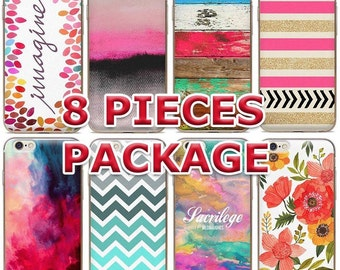 FUN TPU Gel Design Cases (8 pieces deal) iPhone 6/6S