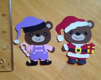 Christmas teddy bears 3