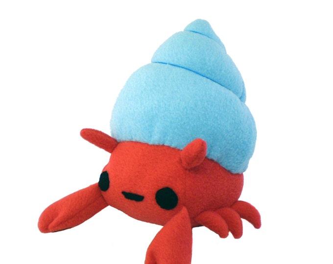 Crab Plush Toy Sewing Pattern