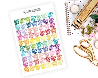 70 Paper and Pencil Stickers- SKU #0064