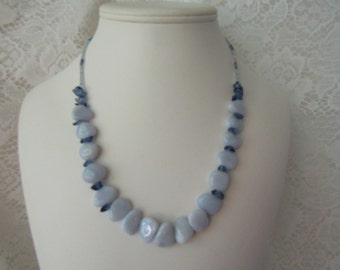Blue Whispers Necklace ECS