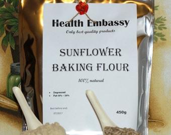 Sunflower Baking Flour 450g - Health Embassy - Organic