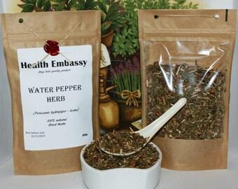 Water Pepper Herb (Persicaria hydropiper - herba) 50g - Health Embassy  - Organic
