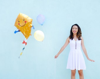 Kite Balloon - Jumbo Mylar Up Up and Away Party Decor