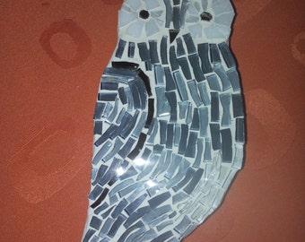 Small special mosaic owl - free shipping