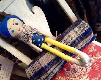 Heirloom Cloth Art Doll