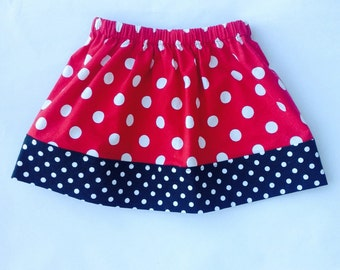 Girls Mickey Mouse Skirt