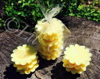 Pineapple Mango tarts,soy tarts,wax tarts,soy wax tarts,flower tarts,mothers day gift,scented wax melt,tart warmer,scented tarts,home decor,