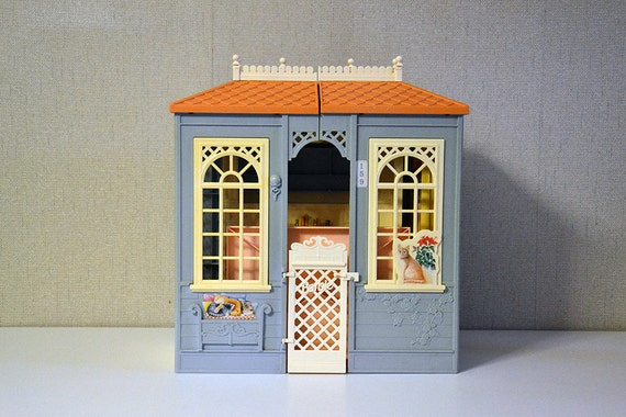 Doll House Barbie Vintage 90s Victorian Style Mattel Made