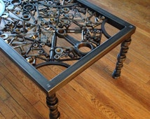Hand made coffe table, metal coffee table, metal art table, hot rod table, custom table, custom coffee table, metal table, custom end table