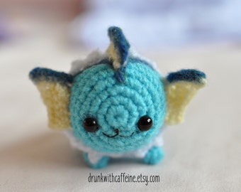 Mini Vaporeon from Pokemon | Marshmallow edition