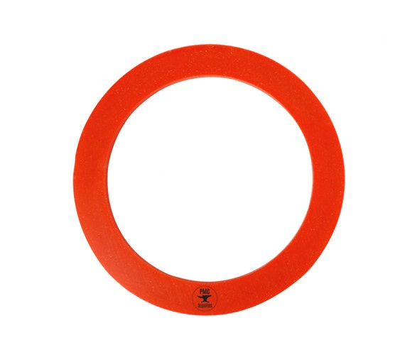 Diameter red silicone rubber casting gasket