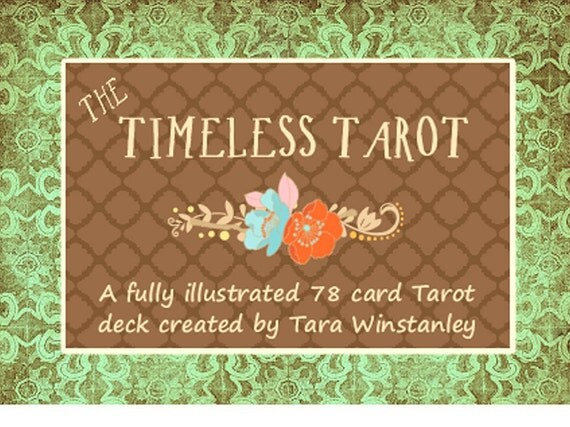 New Years Price! The Timeless Tarot / A traditional Tarot deck based on the Rider-Waite-Smith system of divination