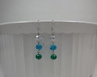 Crystal Ombre Earrings
