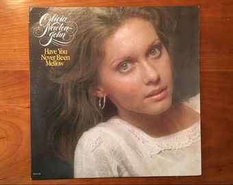 Olivia Newton John - Have you never been mellow LP vintage record seventies 70s 1970s It's so easy
