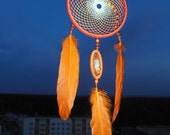 "Dreamcatcher ""The color of sunlight  \  Large   Dream catcher \  attrape reves \ Traumfanger \ Acchiappasogni"