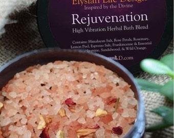 Rejuvenation High Vibration Bath Salt 8oz