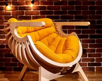 Relax Wooden chair, Furniture, Wooden furniture chair, Seating, Wooden, Wood, Chair furniture, Cnc furniture, Loft, Chair