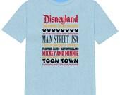 Disney Shirt DISNEYLAND Disney Vacation Group Shirts