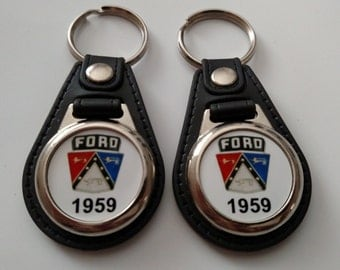 1959 FORD KEYCHAIN 2 PACK