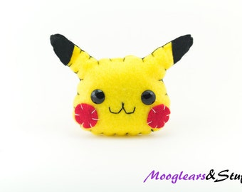 Pikachu - Pokemon Hanging Ornament / Decoration / Accessory / Small Gift / Pin badge