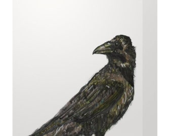 Greeting Card: Crow 5x7