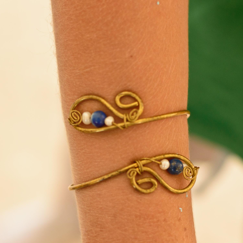 cleopatra arm bracelet brass arm bracelet armlet arm cuff