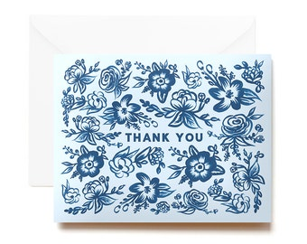 Thank You Card Set - Boxed Cards - Hand Painted Notecards
