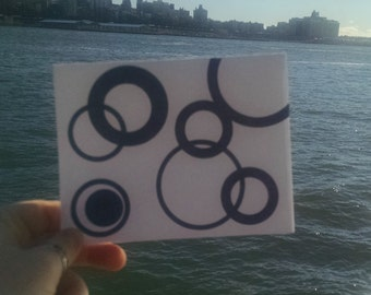 Blue Circle Card