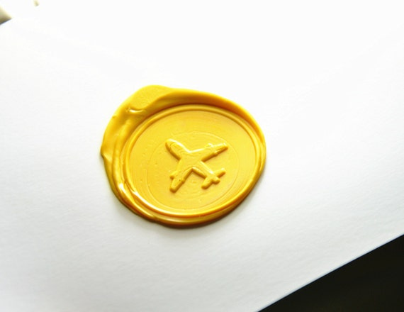 Custom note paper wax