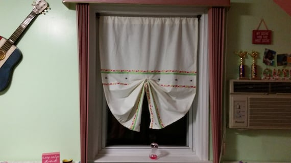 Sale 1 Pair Of Window Long Fitted Curtains Full Covered