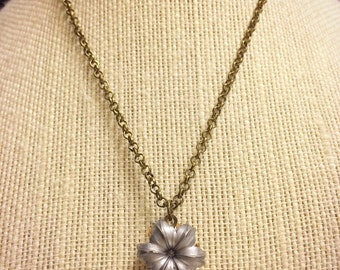 Federal HST 9mm 124 Grain +P Bullet Necklace - Antique Finish - Beautifully Expanded  - Very Unique