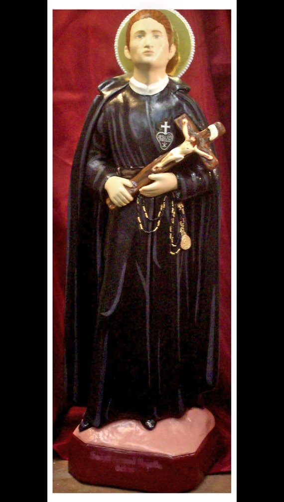 "St. Gabriel of Our Lady of Sorrows 25"" Christian Catholic Religious Statue"