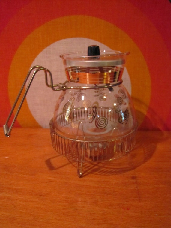 Modern Glass Coffee Maker : Flameproof Jet-O-Matic Glass Coffee Pot with by CapeCodModern