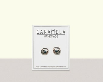 Sloth Stud Earrings Animal stud Animals earring Sloth earrings Sloth Jewelry sloth post earrings Gift for her
